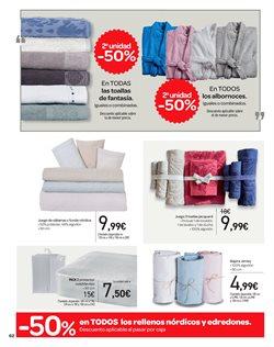 Ofertas de Toallas  en el folleto de Carrefour en Castellón de la Plana