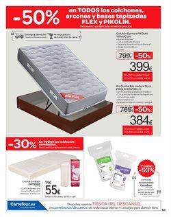 Ofertas de Almohada  en el folleto de Carrefour en Murcia