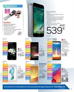 Ofertas de Smartphones Samsung  en el folleto de Carrefour en Alcalá de Henares