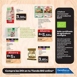 Ofertas de Desayuno, postres y pan  en el folleto de Carrefour en Madrid