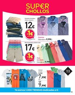Ofertas de Camiseta  en el folleto de Carrefour en Getafe