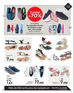 Ofertas de Zapatos mujer  en el folleto de Carrefour en Sevilla