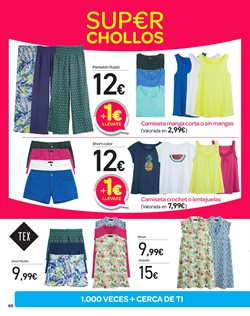 Ofertas de Pantalones mujer  en el folleto de Carrefour en Valladolid