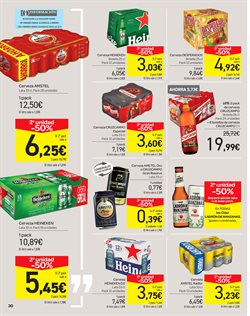 Ofertas de Cerveza  en el folleto de Carrefour en Madrid