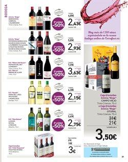 Ofertas de Vino tinto  en el folleto de Carrefour en San Bartolomé de Tirajana