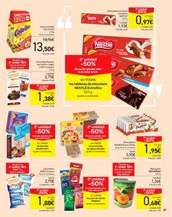 Ofertas de Chocolate  en el folleto de Carrefour en Valencia