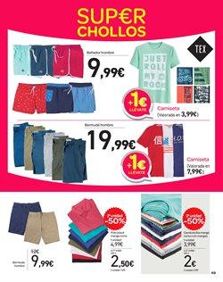 Ofertas de Ropa hombre  en el folleto de Carrefour en Valencia