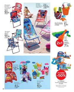Ofertas de Tumbona de playa  en el folleto de Carrefour en Las Palmas de Gran Canaria