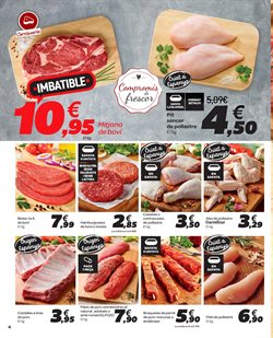 Ofertas de Pollo  en el folleto de Carrefour en Vic