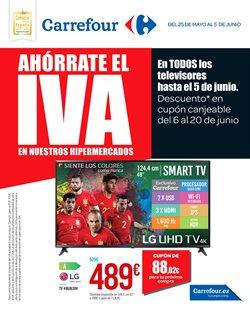 Ofertas de Tv led  en el folleto de Carrefour en Alcalá de Henares