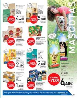 Ofertas de Snacks para mascotas  en el folleto de Carrefour en Valencia