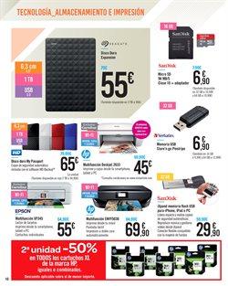 Ofertas de Impresora multifunción  en el folleto de Carrefour en Getafe