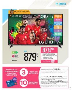 Ofertas de LG  en el folleto de Carrefour en Dos Hermanas