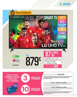 Ofertas de LG  en el folleto de Carrefour en Córdoba