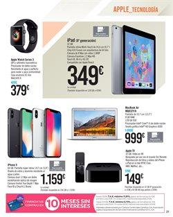 Ofertas de IPhone  en el folleto de Carrefour en Alcalá de Henares