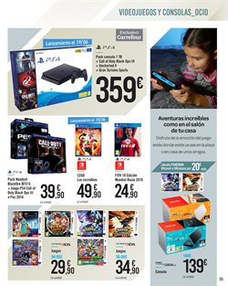 Ofertas de PS4  en el folleto de Carrefour en León