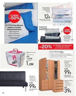 Ofertas de Sábanas  en el folleto de Carrefour en Madrid
