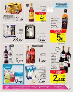 Ofertas de Ginebra  en el folleto de Carrefour en La Orotava