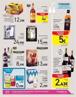 Ofertas de Ginebra  en el folleto de Carrefour en Barcelona