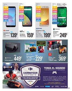 Ofertas de Smartphones  en el folleto de Carrefour en León