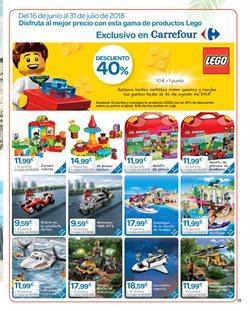 Ofertas de LEGO  en el folleto de Carrefour en Cartagena