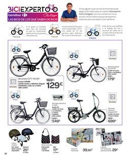 Ofertas de Bicicletas  en el folleto de Carrefour en Ávila
