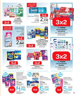 Ofertas de Compresas  en el folleto de Carrefour en Madrid