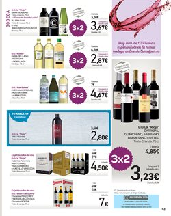 Ofertas de DO Rioja  en el folleto de Carrefour en Madrid