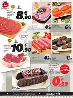 Ofertas de Carne y charcutería  en el folleto de Carrefour en Zamora