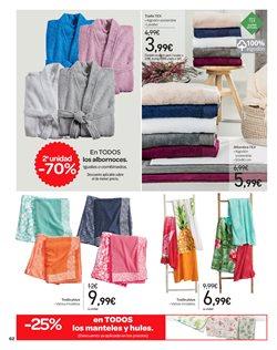 Ofertas de Toallas  en el folleto de Carrefour en Telde
