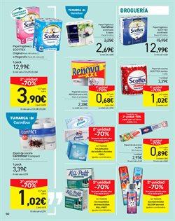 Ofertas de Pañuelos de papel  en el folleto de Carrefour en León