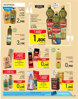 Ofertas de Paella  en el folleto de Carrefour en Valencia