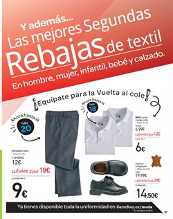 Ofertas de Zapatos  en el folleto de Carrefour en Pamplona