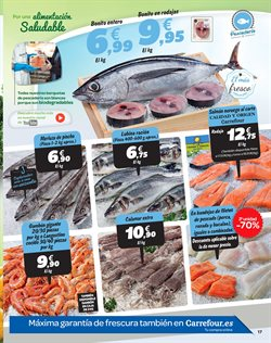 Ofertas de Calamares  en el folleto de Carrefour en Murcia