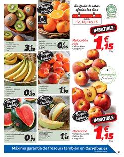 Ofertas de Kiwis  en el folleto de Carrefour en Madrid