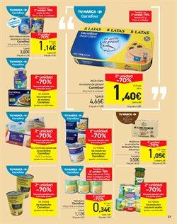 Ofertas de Conservas de pescado  en el folleto de Carrefour en Murcia