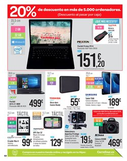 Ofertas de Tablet  en el folleto de Carrefour en Siero