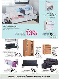 Ofertas de Sofás  en el folleto de Carrefour en Sanlúcar de Barrameda