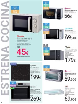 Ofertas de Hornos  en el folleto de Carrefour en Telde