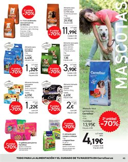 Ofertas de Comida para gatos  en el folleto de Carrefour en Madrid