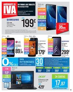 Ofertas de Tablet  en el folleto de Carrefour en León