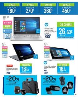 Ofertas de Lenovo  en el folleto de Carrefour en Madrid