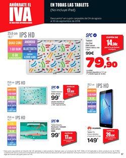 Ofertas de Tablet  en el folleto de Carrefour en Vila-real