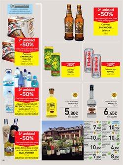 Ofertas de Cerveza  en el folleto de Carrefour en Ávila