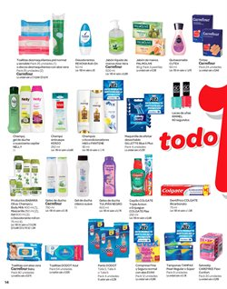 Ofertas de Compresas  en el folleto de Carrefour en Madrid