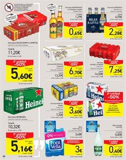 Ofertas de Cruzcampo  en el folleto de Carrefour en Alcalá de Henares