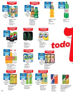 Ofertas de Schweppes  en el folleto de Carrefour en La Orotava