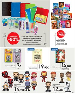 Ofertas de Figuras de acción en el folleto de Carrefour en Vigo bee41245d91