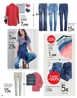 Ofertas de Ropa mujer  en el folleto de Carrefour en Pamplona