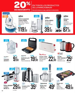 Ofertas de Moulinex  en el folleto de Carrefour en Telde